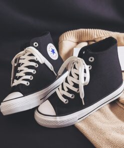 Canvas Shoes Women's New Winter 2020 Inner High Rise Bangbu Tide Shoes Thick Soled Shoes Plush Warm 34-39 Fashion Casual Shoes